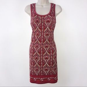 Max Studio red dress small NWT